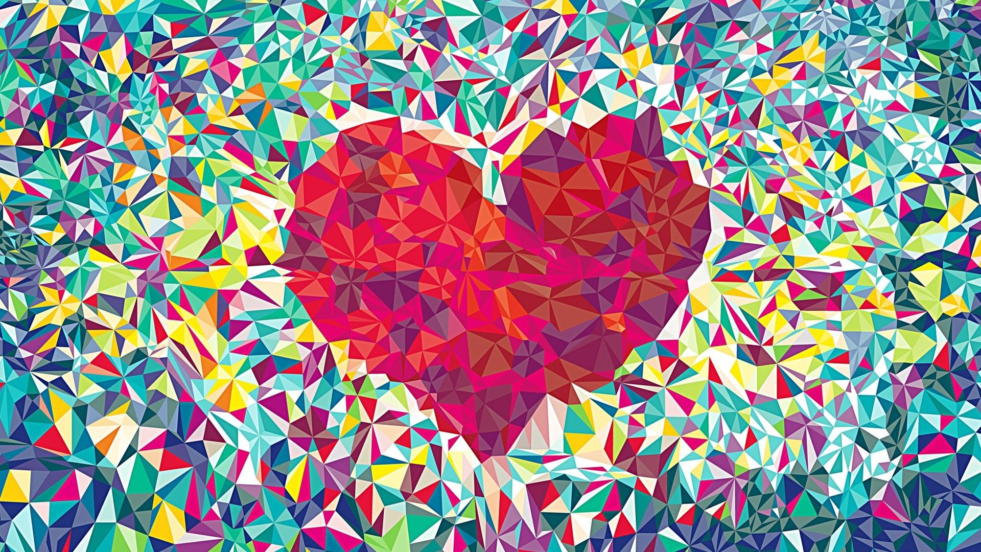 Hình nền cute hình trái tim