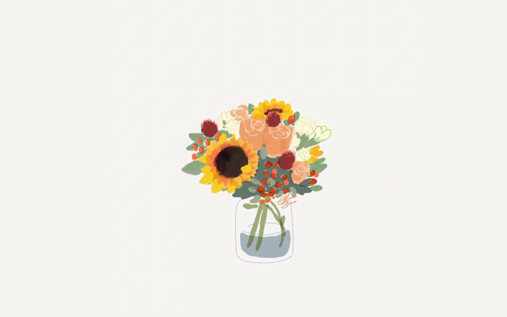 Hình nền hoa dễ thương