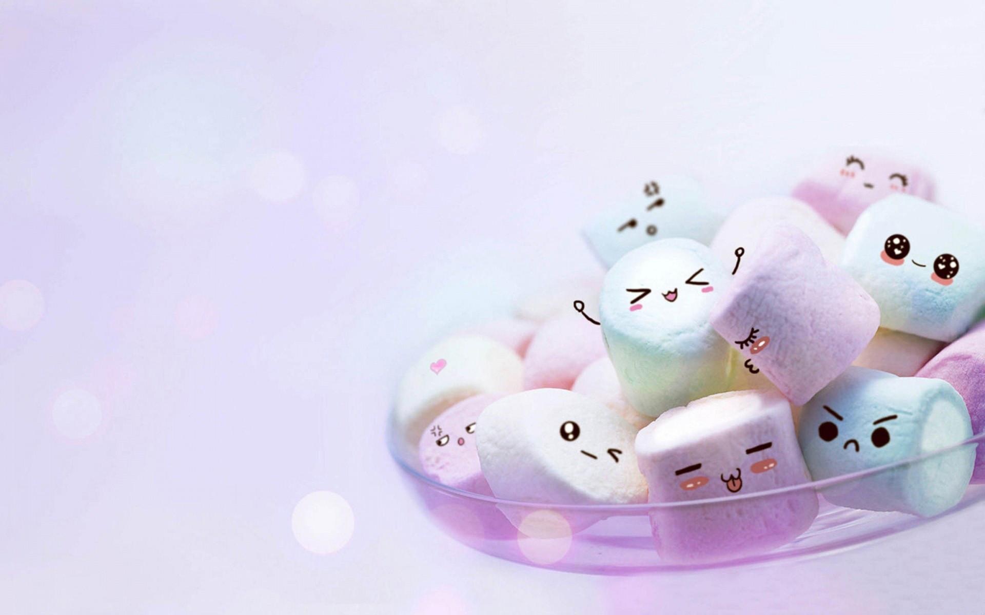 Hình nền những viên kẹo cute