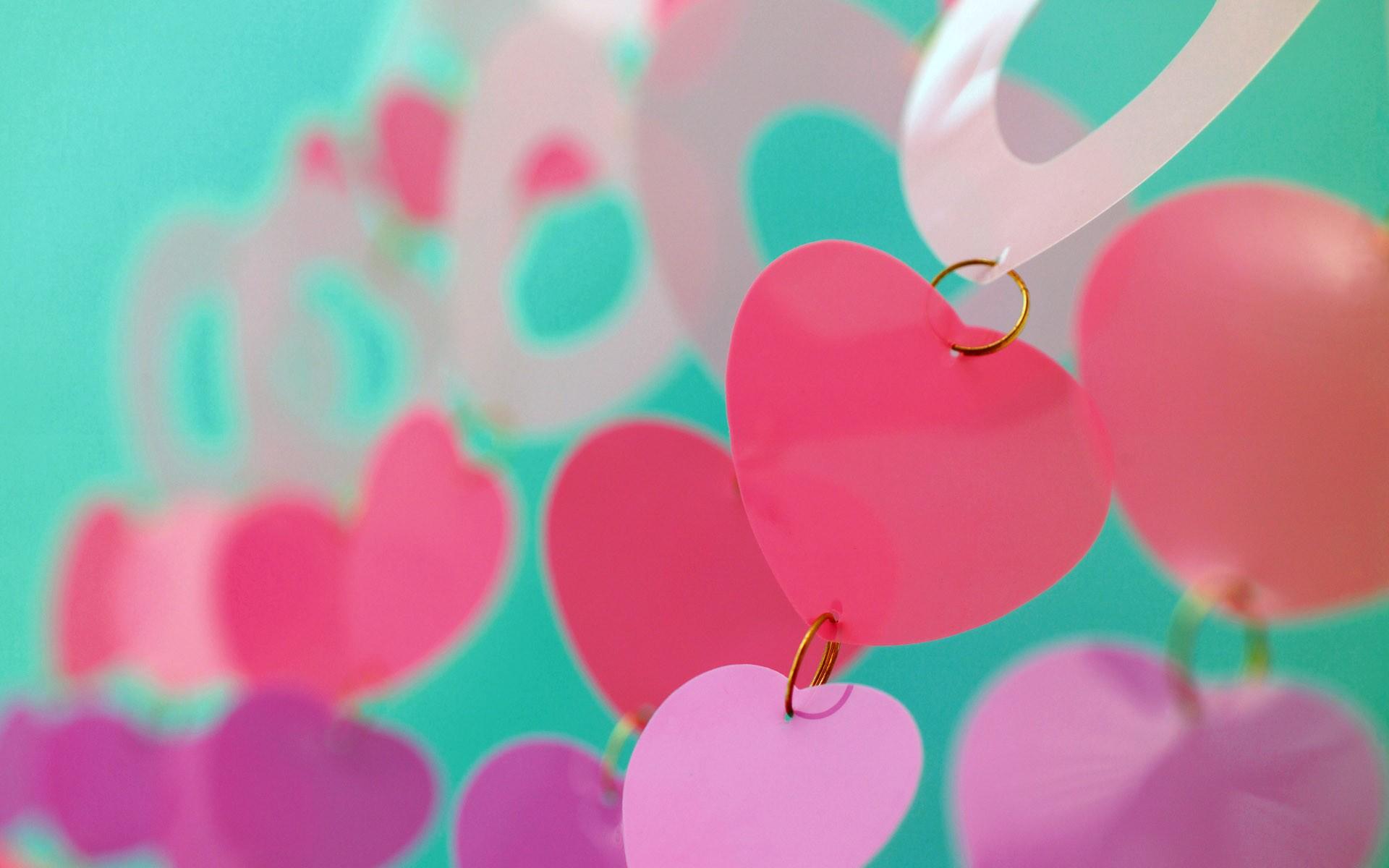 Hình nền trái tim cute