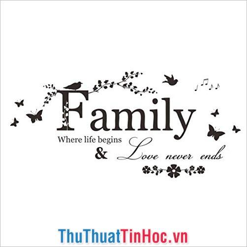 """Những trích dẫn """"quote"""" hay nhất về gia đình hạnh phúc - 1"""