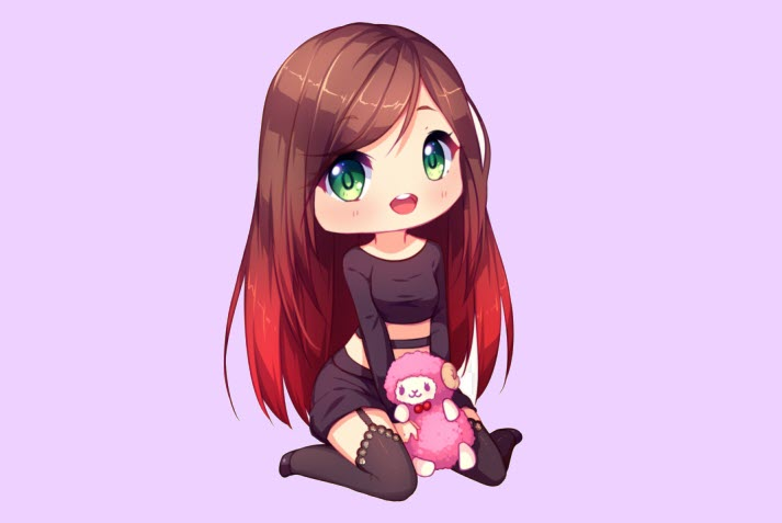 Ảnh chibi girl cute