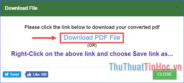 Click vào Download PDF File để tải file PDF về máy