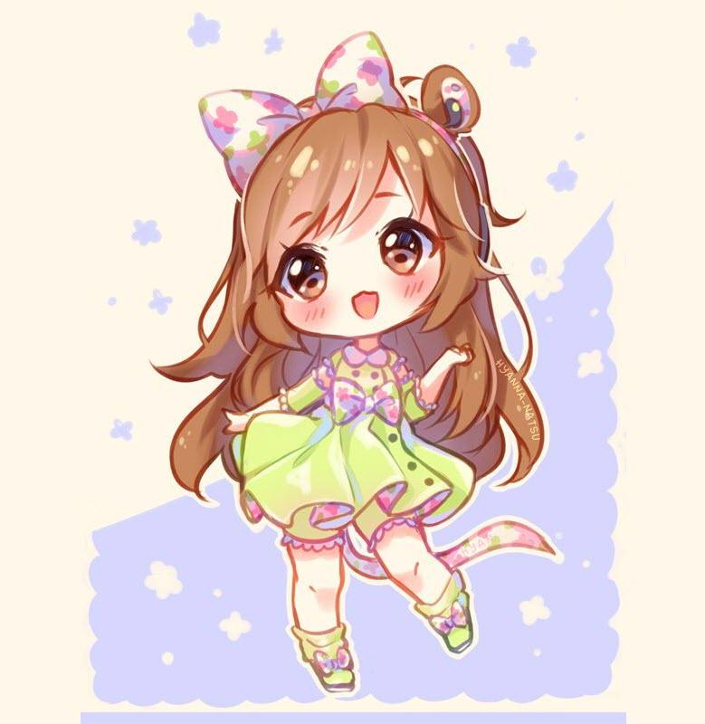 Hình ảnh anime chibi cute