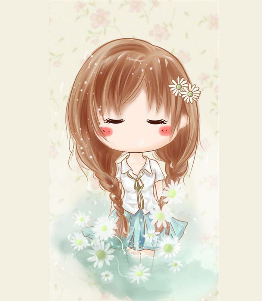 Hình ảnh công chúa chibi