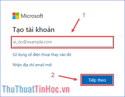 Hướng dẫn cách tạo tài khoản Microsoft nhanh chóng