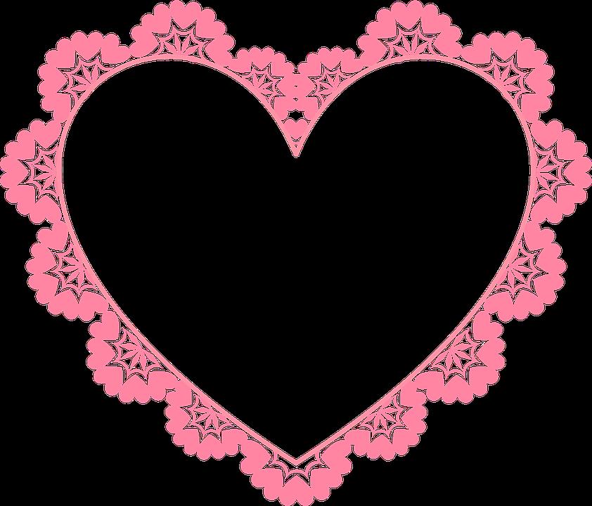 Khung ảnh hình trái tim đẹp nhất