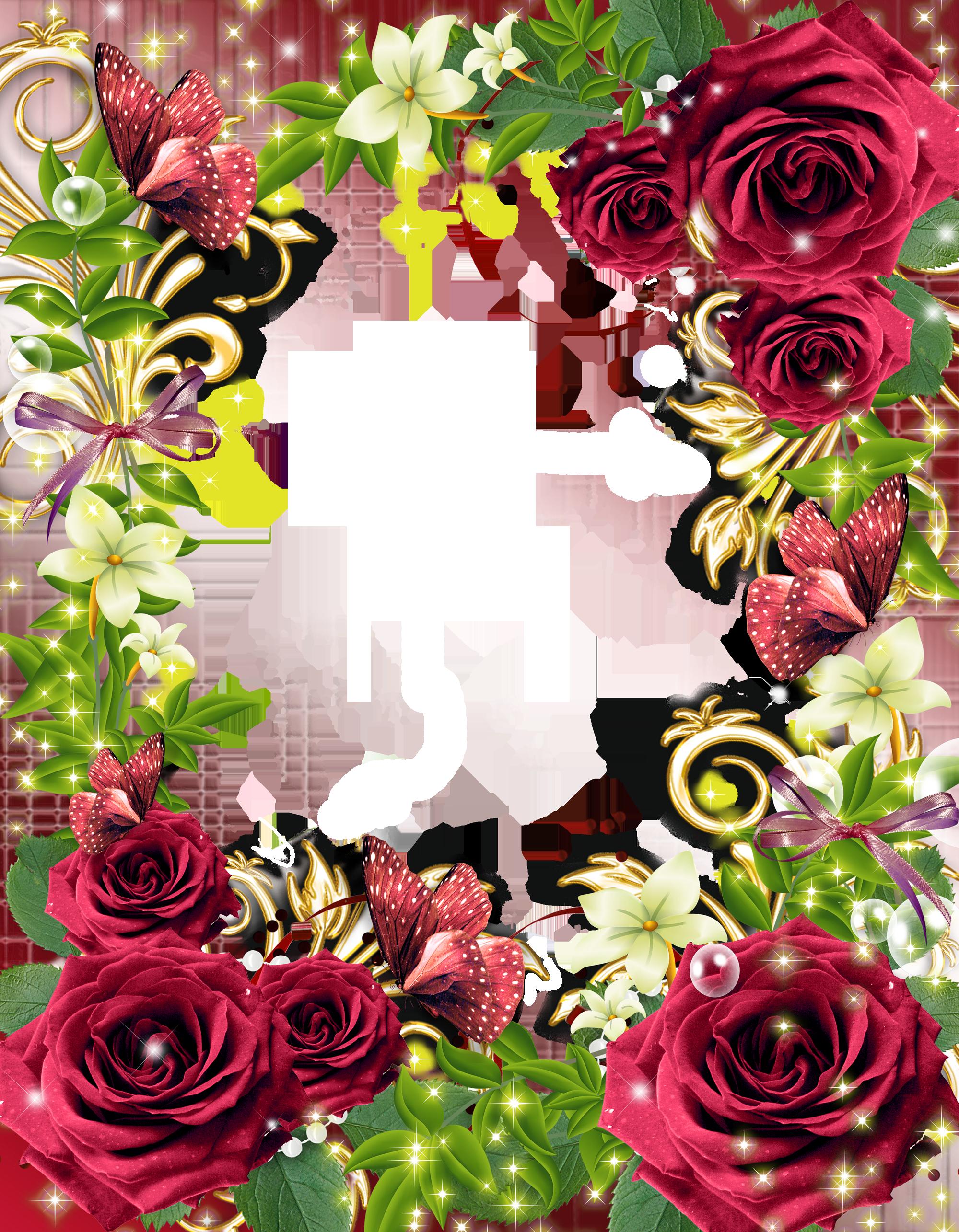 Khung ảnh hoa cực đẹp