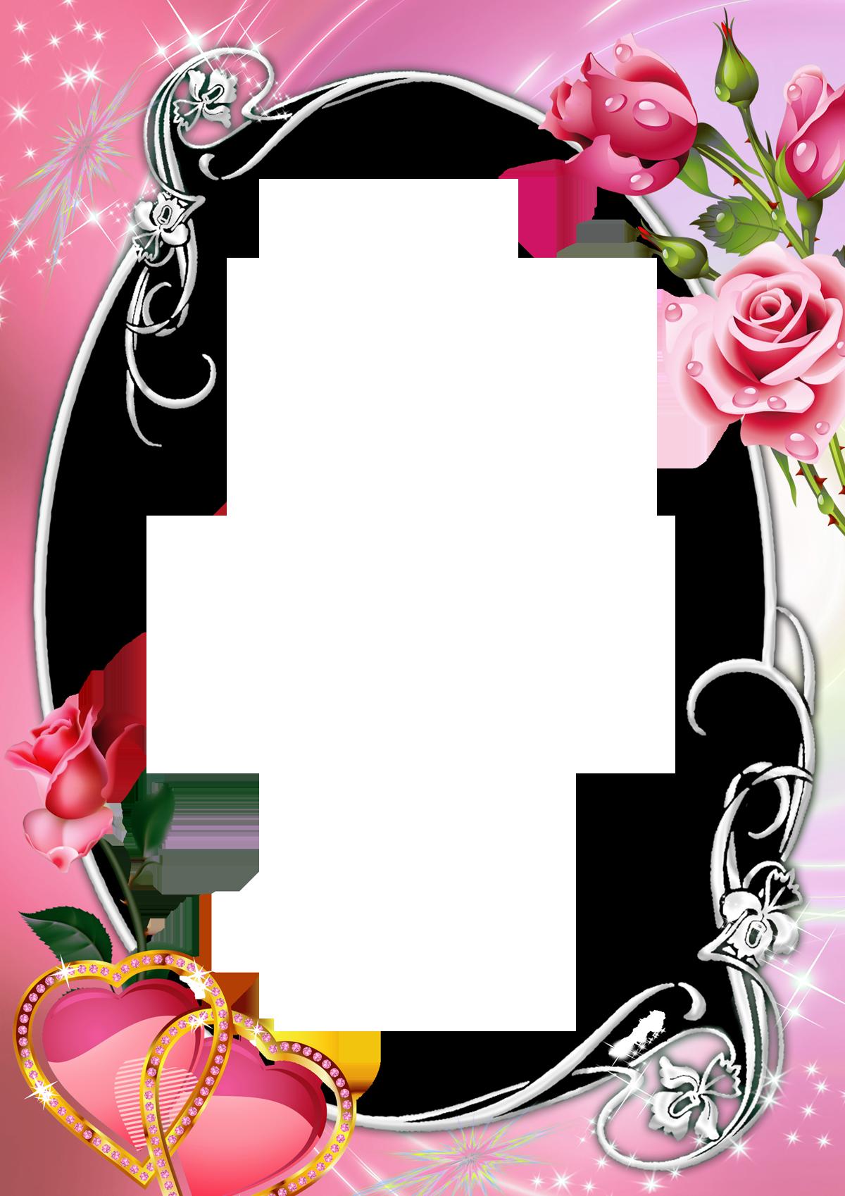 Khung ảnh màu hồng dễ thương nhất