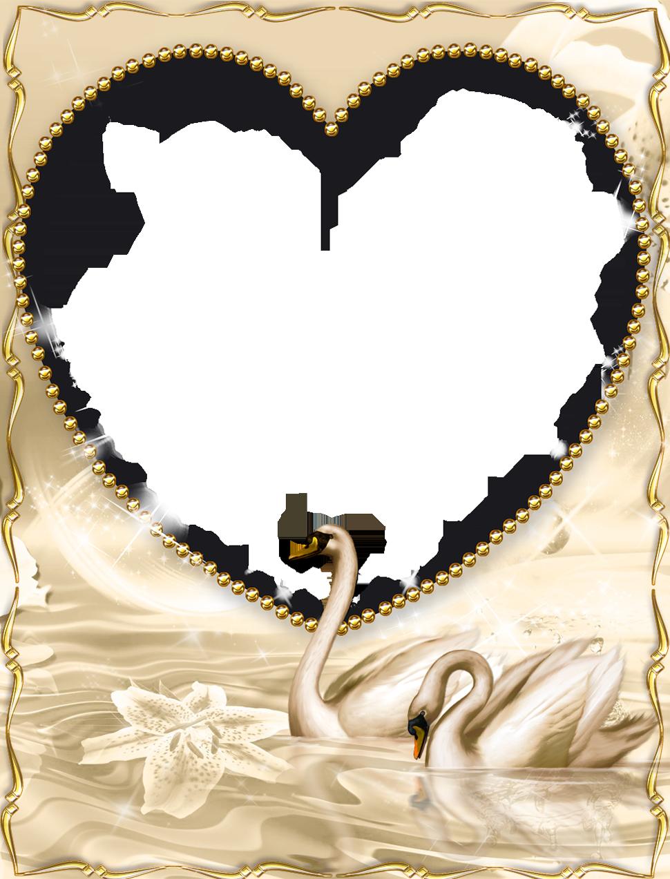 Mẫu khung hình trái tim đẹp nhất