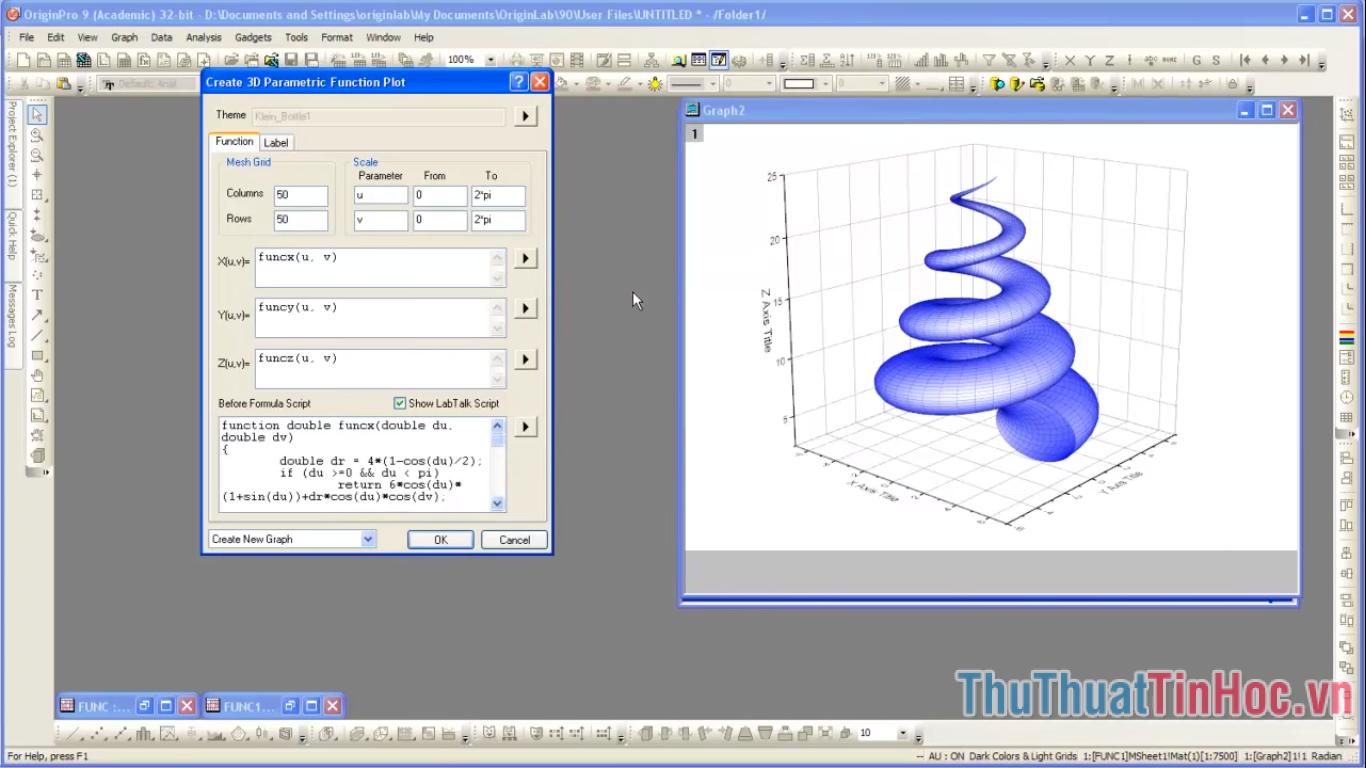 Phần mềm vẽ đồ thị hàm số trên máy tính