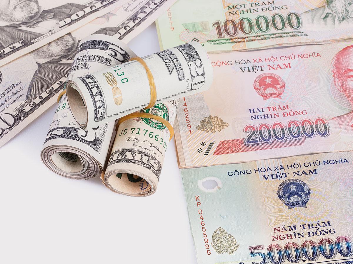 Hình ảnh các loại tiền trên thế giới