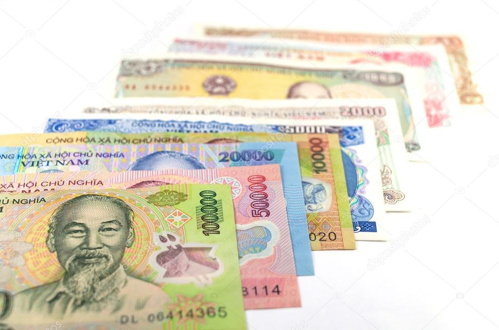 Hình ảnh các mệnh giá tiền Việt Nam đẹp