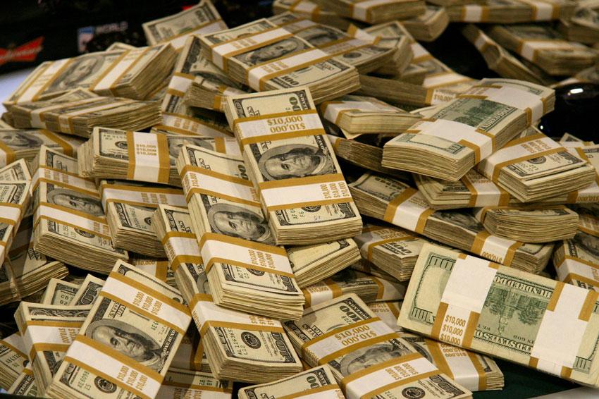 Hình ảnh đẹp của đống tiền