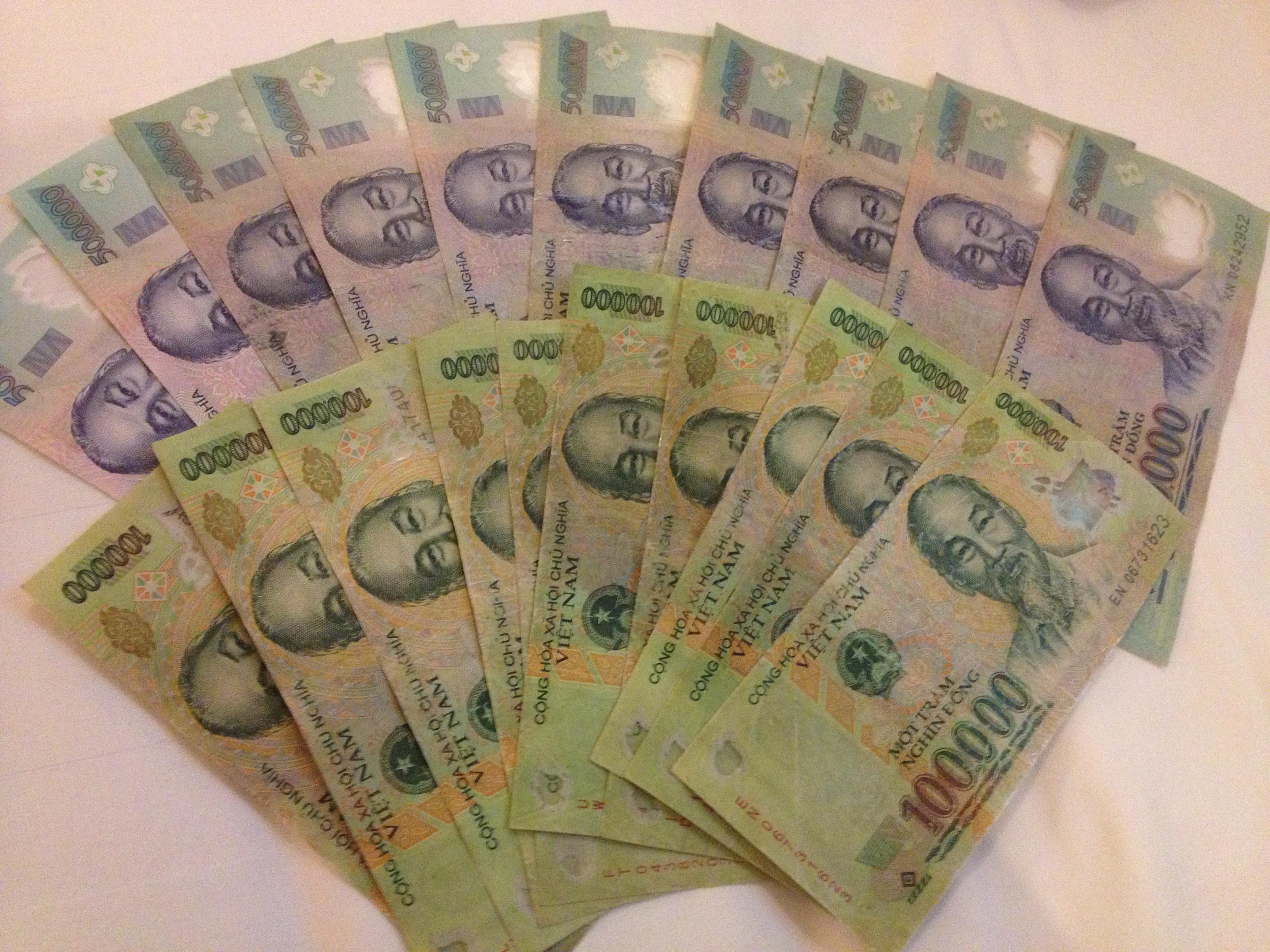 Hình ảnh đẹp về tiền
