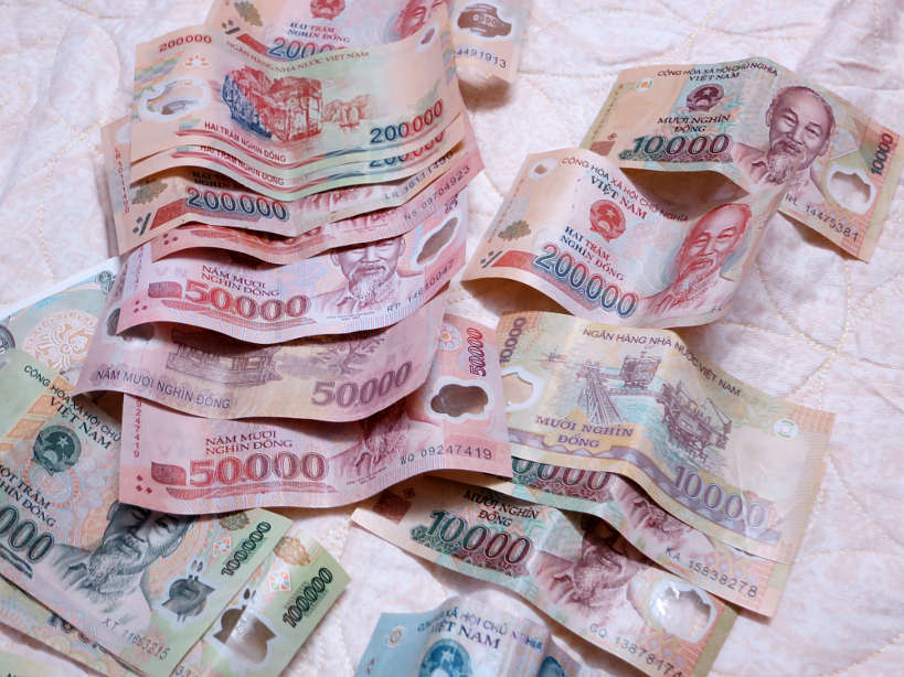 Hình ảnh đồng tiền Việt Nam