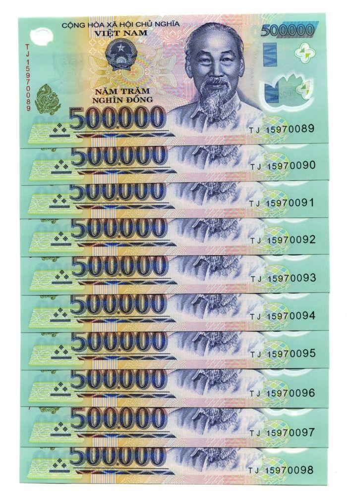 Hình ảnh những tờ tiền 500k