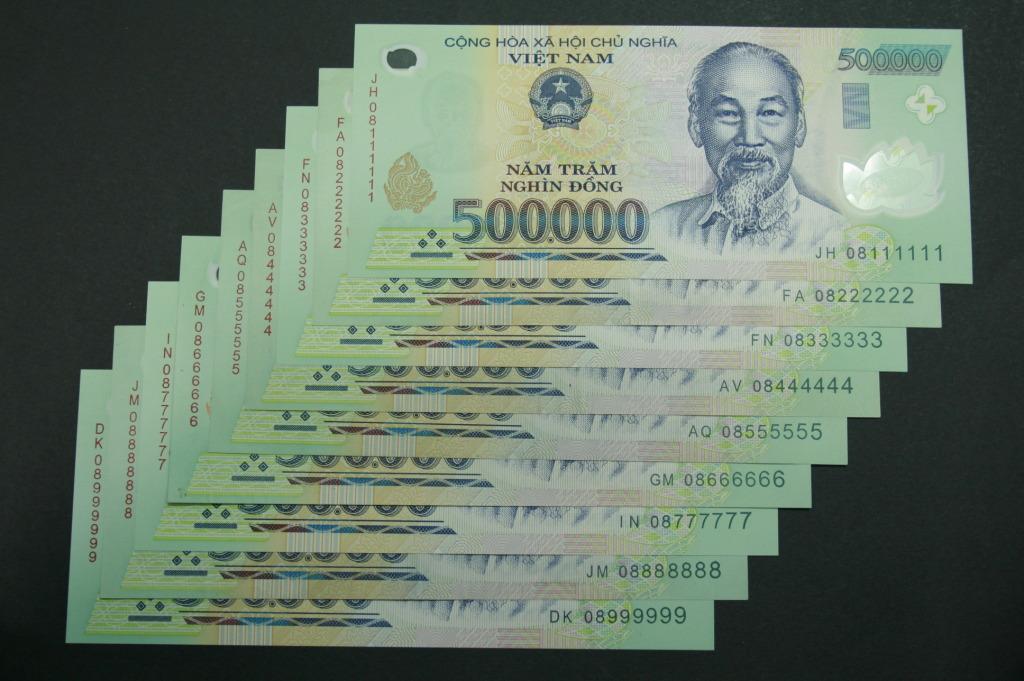 Hình ảnh tiền 500 nghìn đồng đẹp