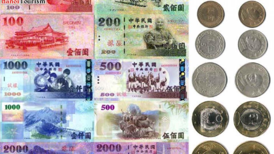 Hình ảnh tiền Đài Loan
