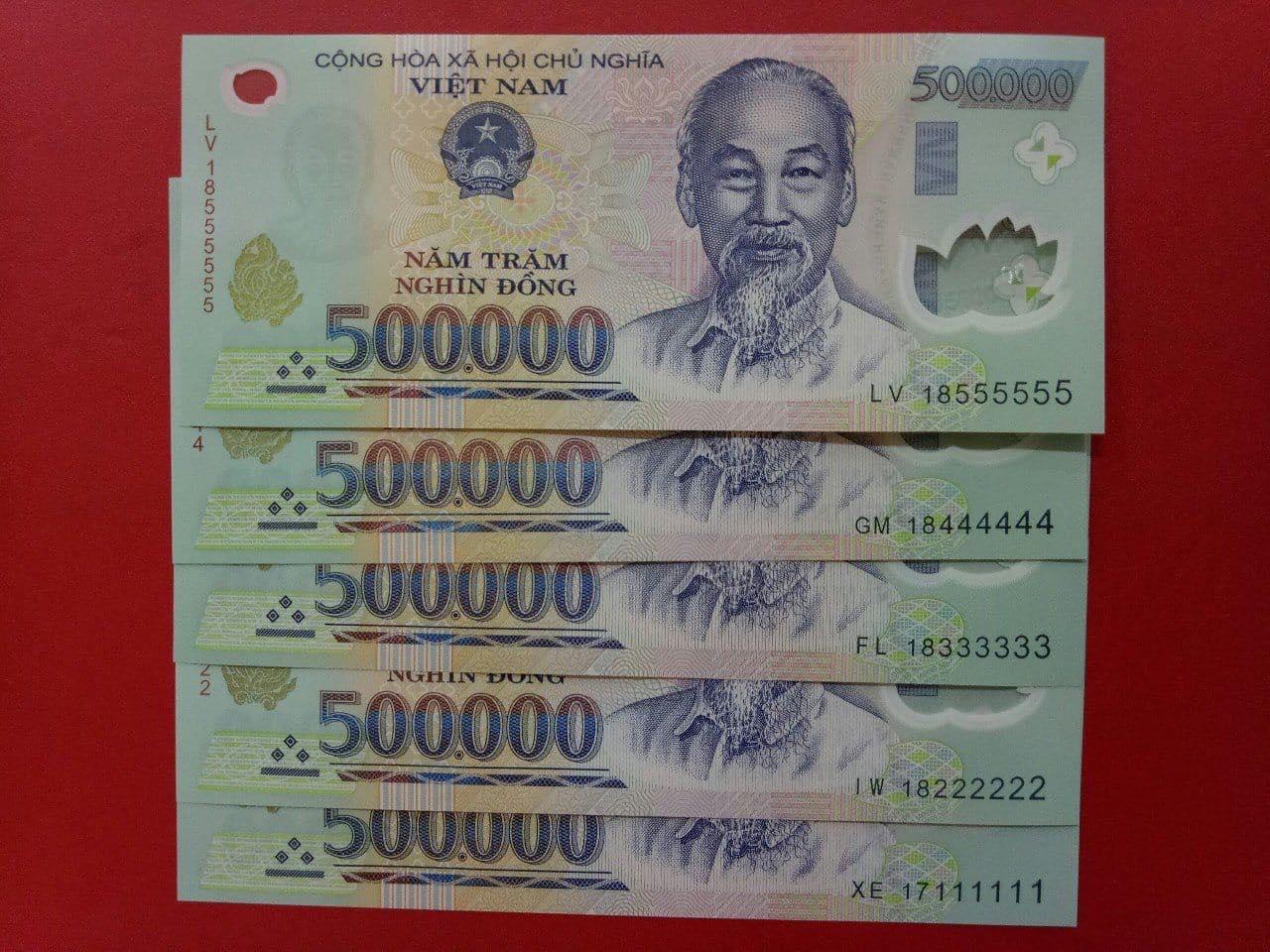 Hình ảnh tiền mệnh giá 500k