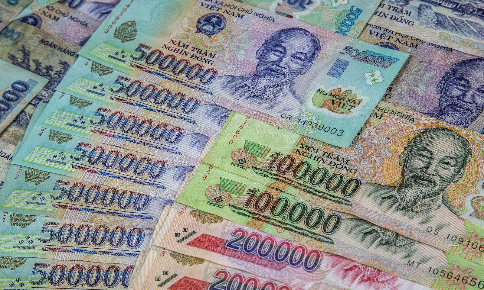 Hình ảnh tiền Việt Nam hiện nay