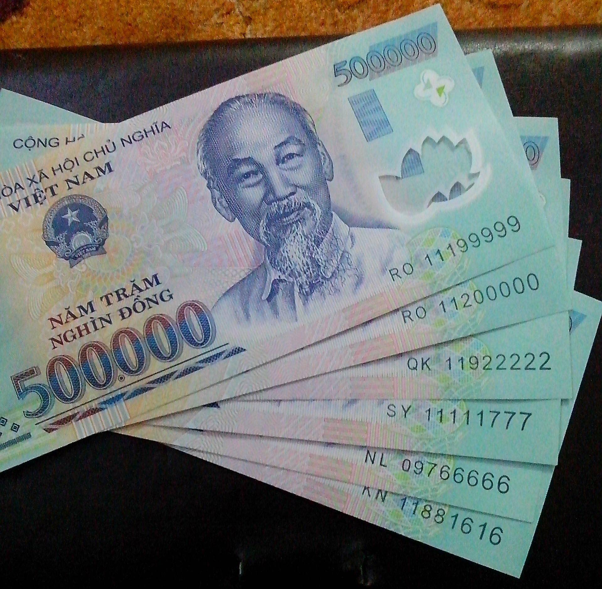 Hình ảnh về tiền Việt Nam
