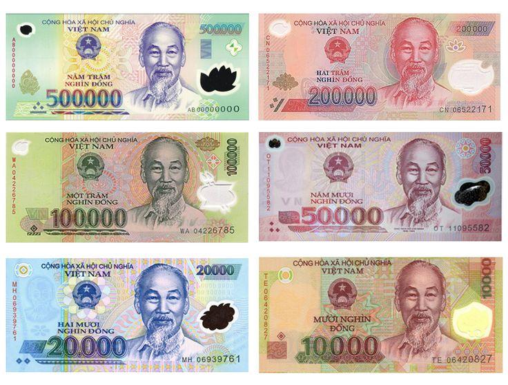 Hình tiền Việt Nam đẹp