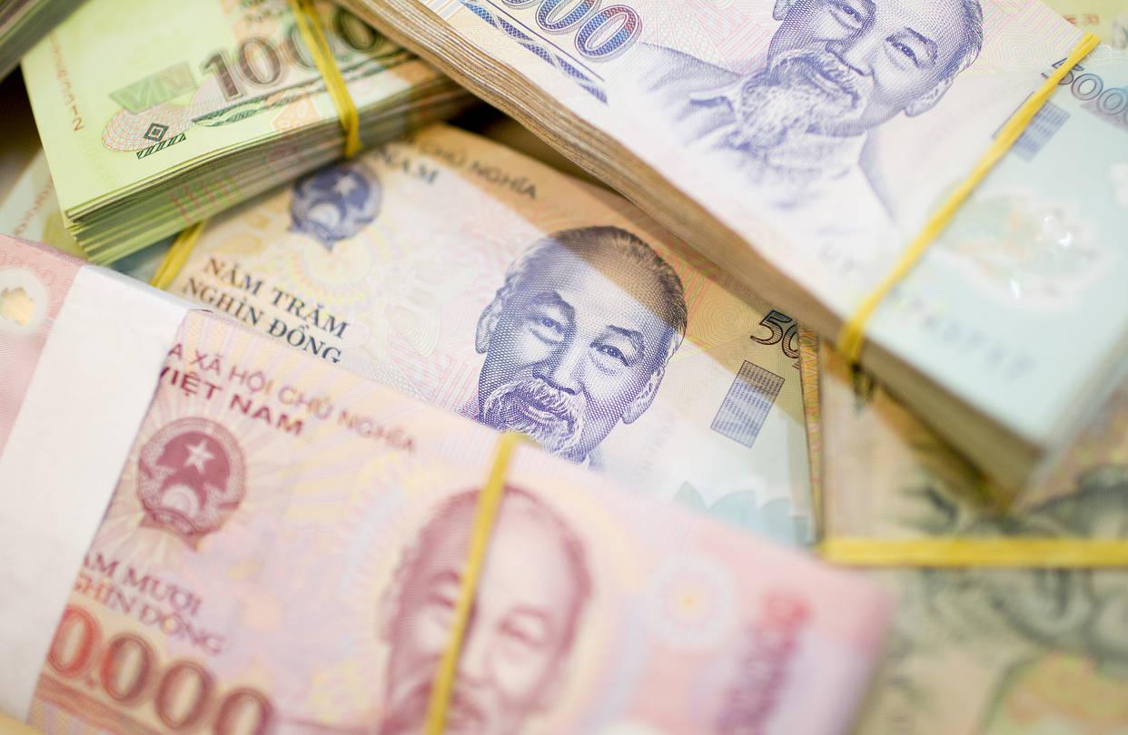 Hình về tiền Việt Nam