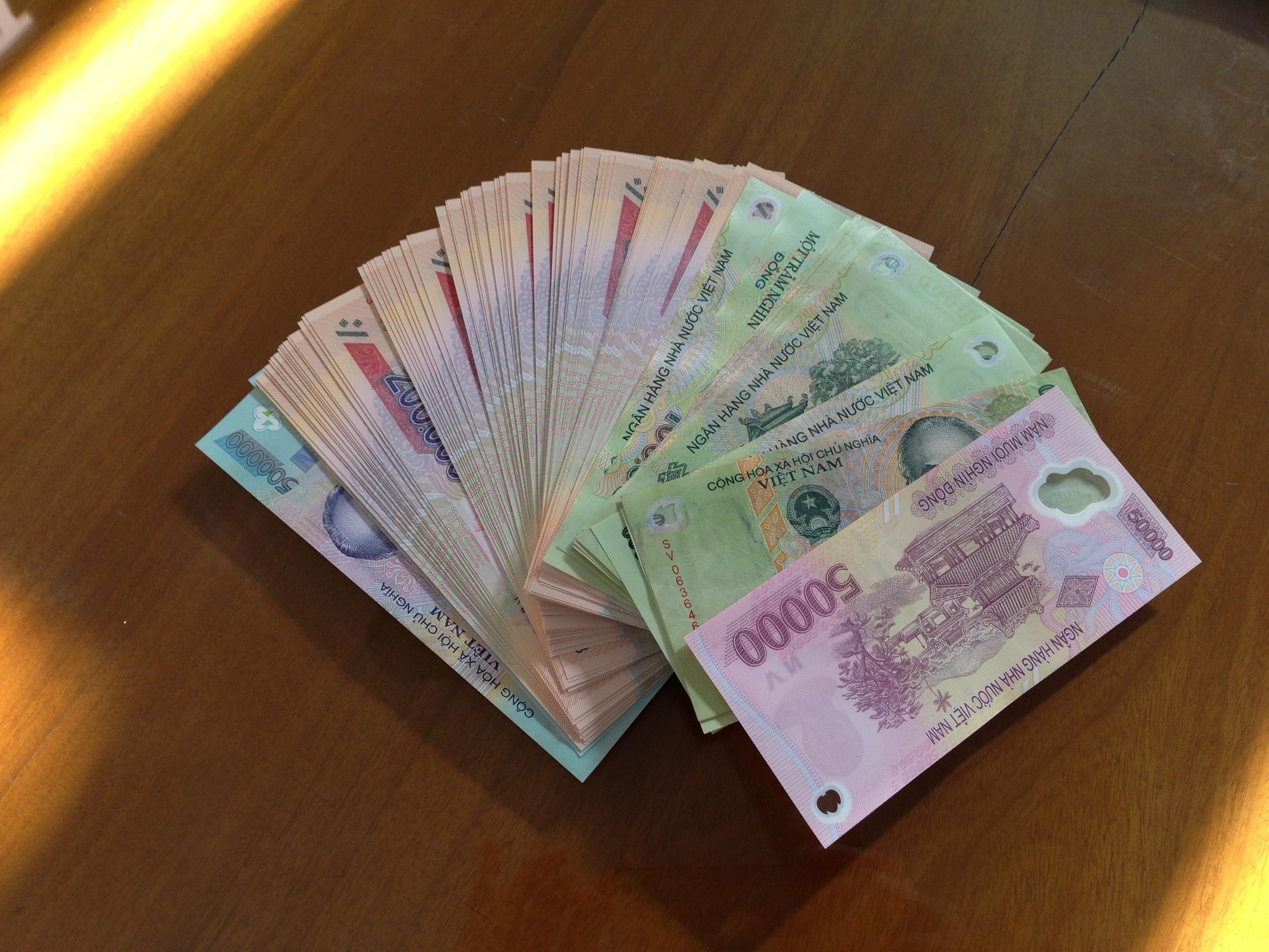 Những hình ảnh tiền