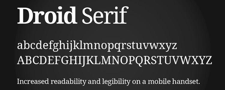 droid-free-font-serif