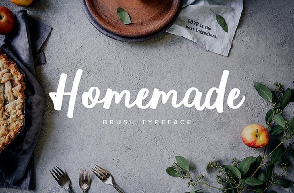 Homemade-Brush-Typeface-1024x673