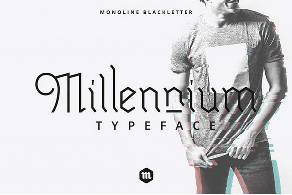 Millennium-Blackletter-Typeface-1024x685