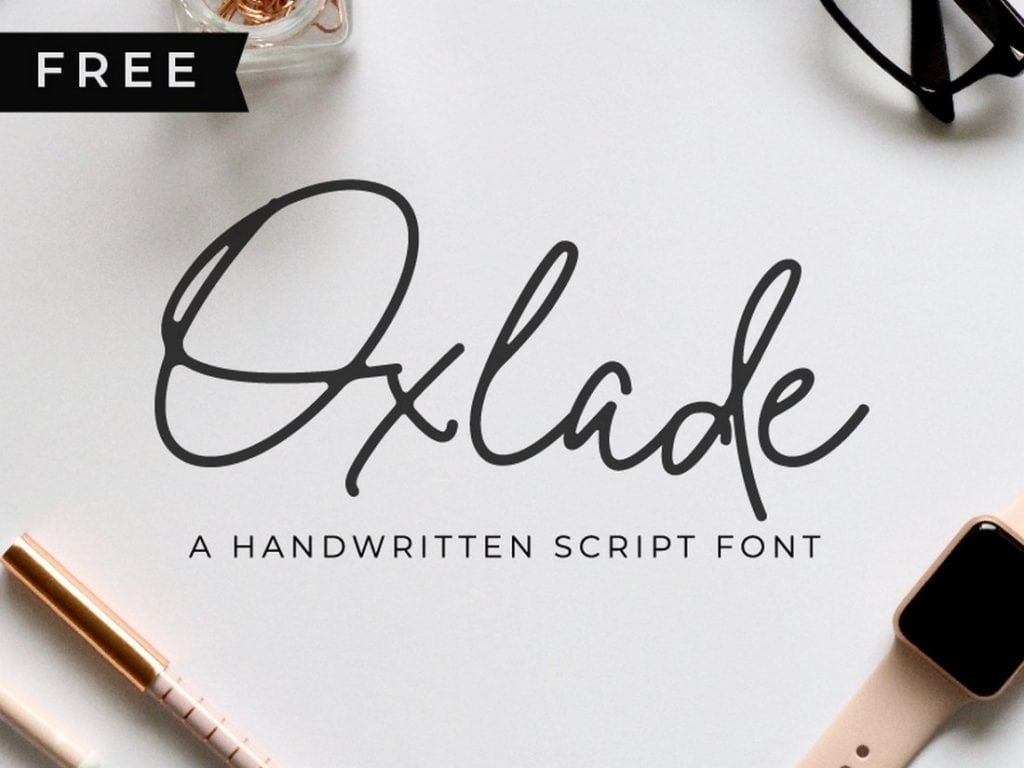 Oxlade-Free-Script-Font-1024x768