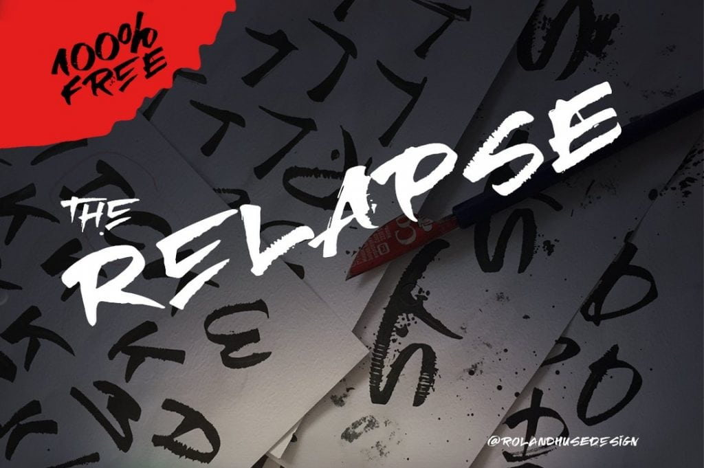 Relapse-–-A-Handmade-Free-Font-1024x681