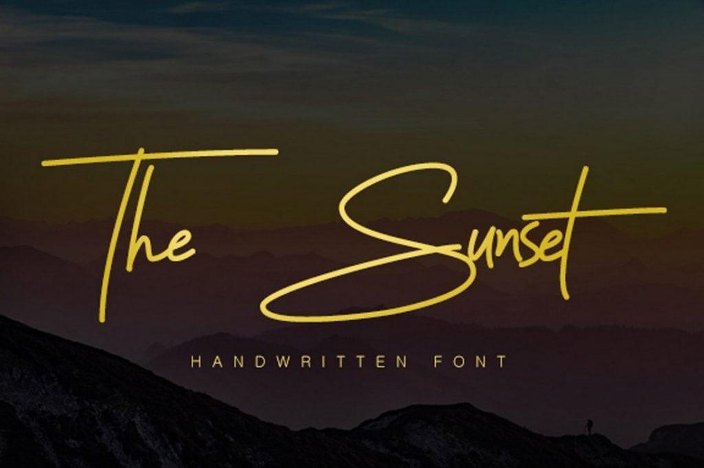 Sunset-Signature-Font-1024x681
