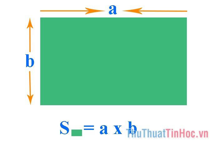 Cách tính diện tích hình chữ nhật nhanh và chuẩn nhất