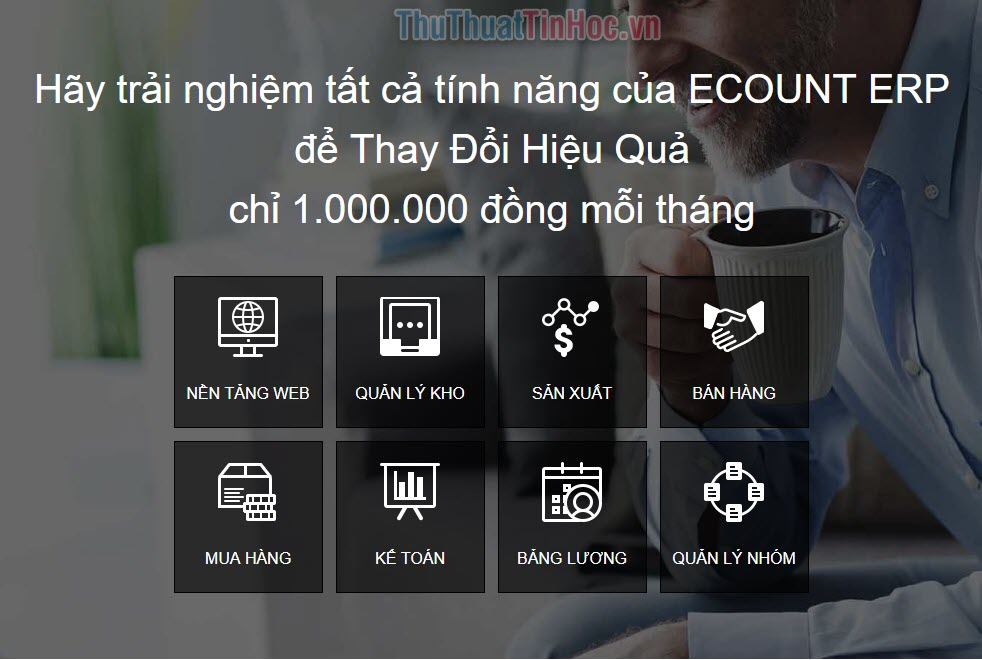 Phần mềm ERP – Ecount (1)