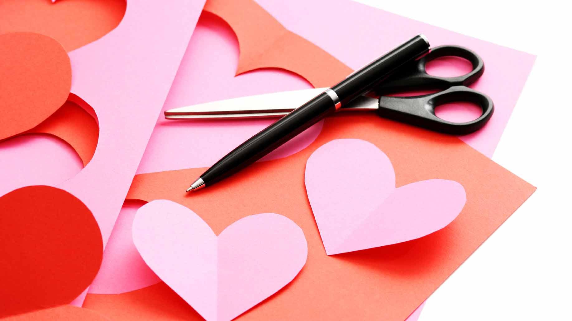 Hình ảnh trái tim Valentine