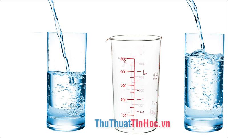 1 lít = 1000 ml