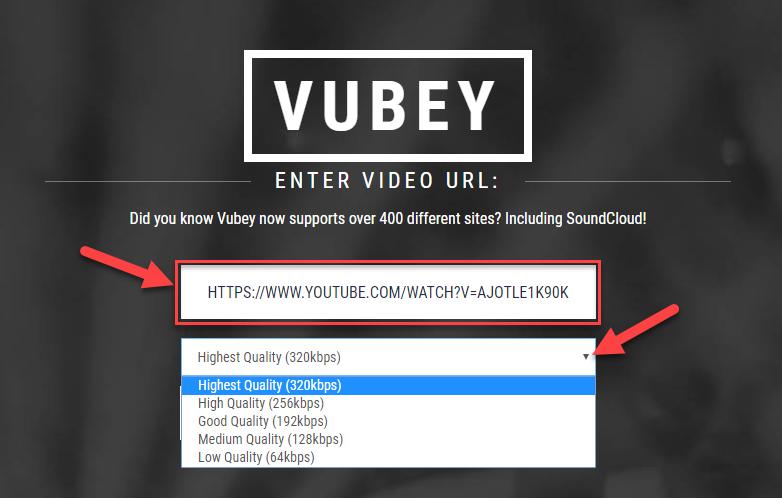 Cách tải nhạc, chuyển video trên Youtube thành MP3