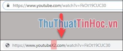 """Thêm """"X2"""" vào sau chữ Youtube"""