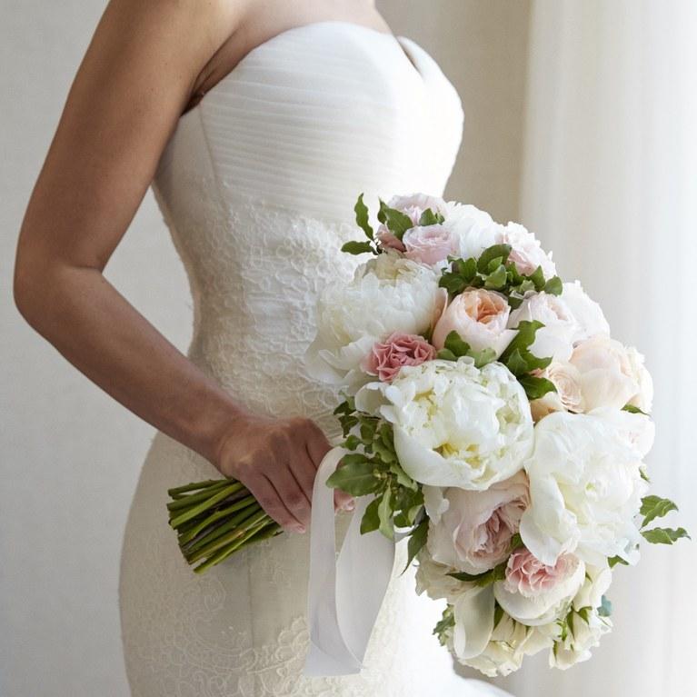 Bó hoa cưới của cô dâu đẹp