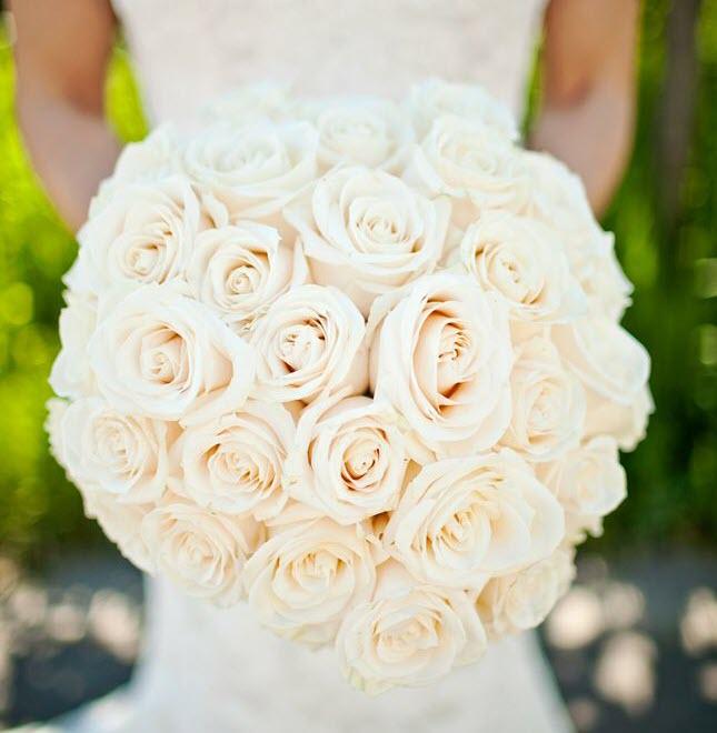 Bó hoa cưới đơn giản cực đẹp