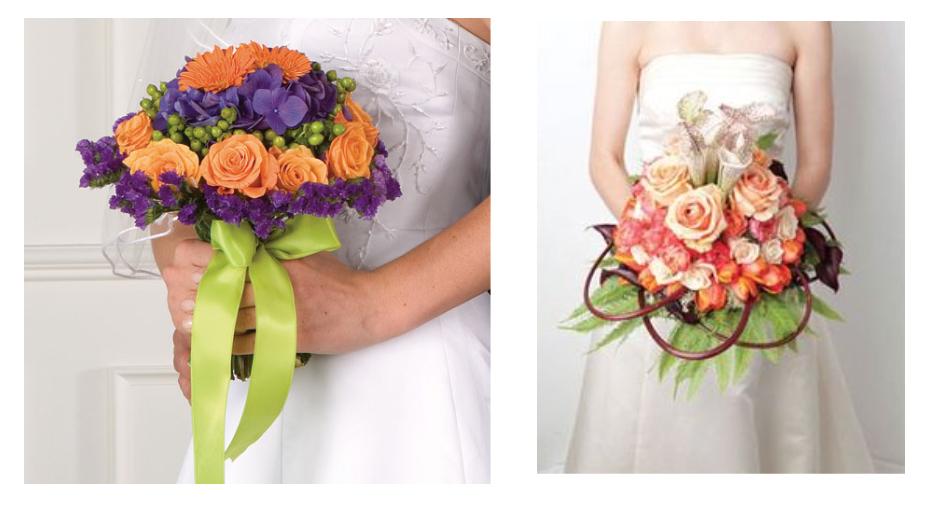 Hình các mẫu hoa cưới cầm tay đẹp