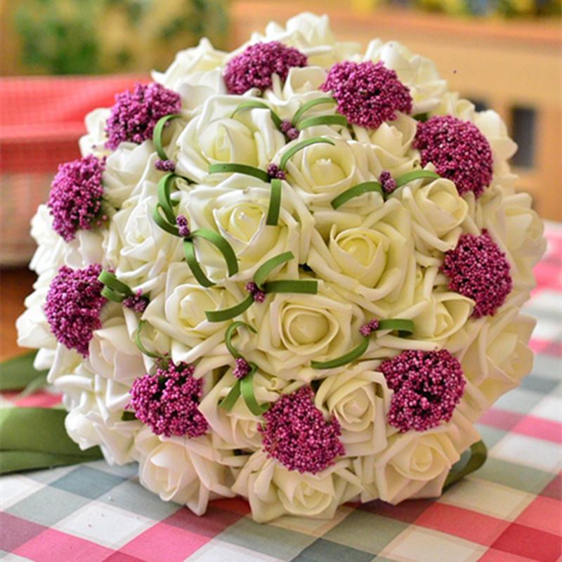 Hình mẫu hoa cưới cầm tay cô dâu đẹp