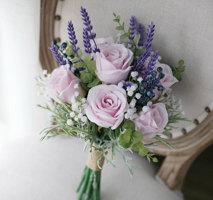 Hình mẫu hoa cưới cầm tay đẹp