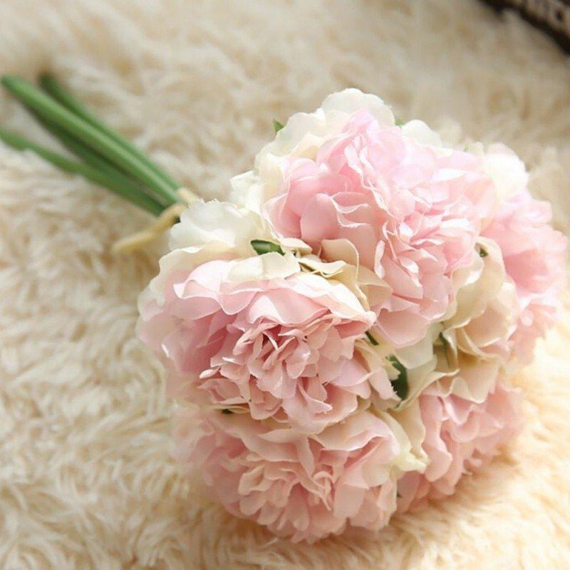 Mẫu hoa cưới cầm tay dễ thương