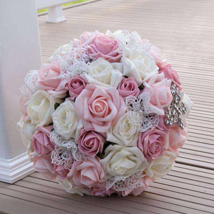 Mẫu hoa cưới cầm tay đẹp nhất hiện nay