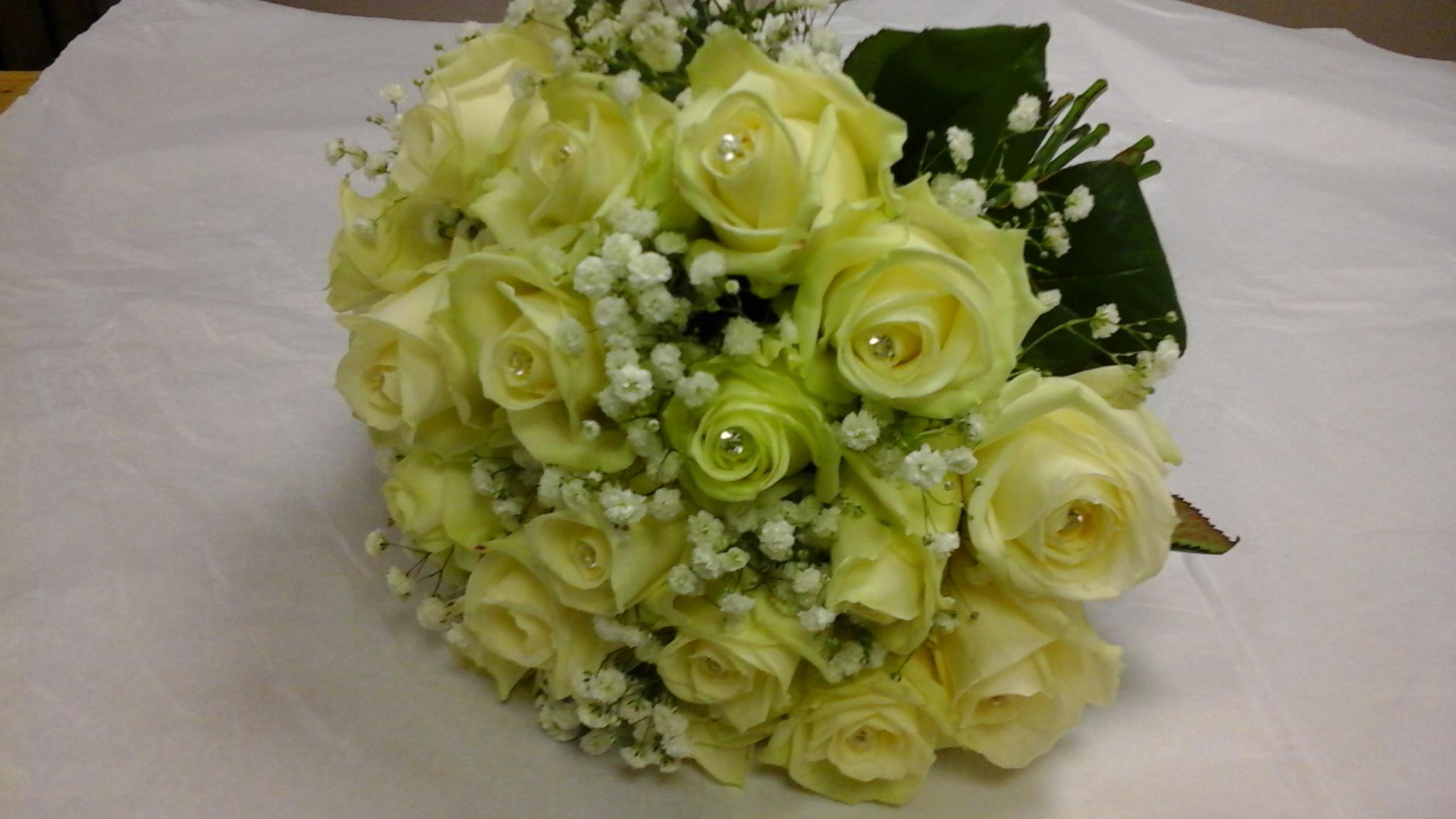 Mẫu hoa cưới cầm tay đẹp