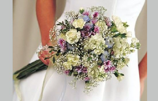 Mẫu hoa cưới, hoa cầm tay cô dâu